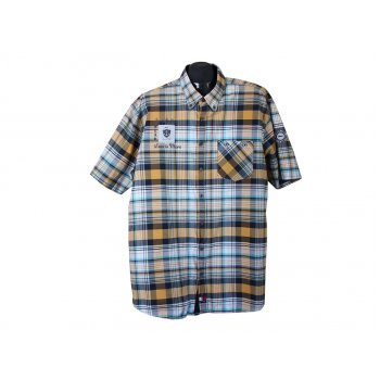 Рубашка мужская в клетку ENGBERS, XXL