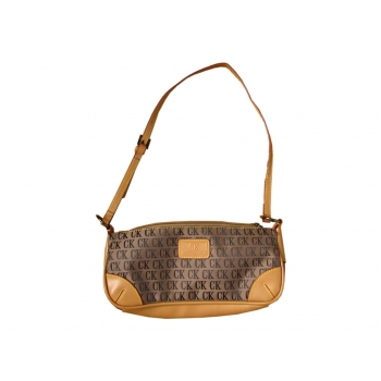 Женская коричневая сумка CK