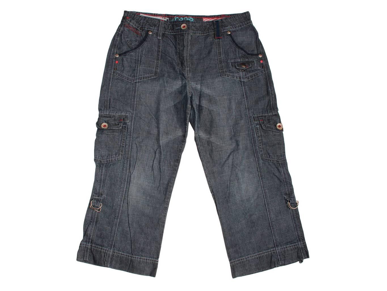 Женские джинсовые капри CROP, М