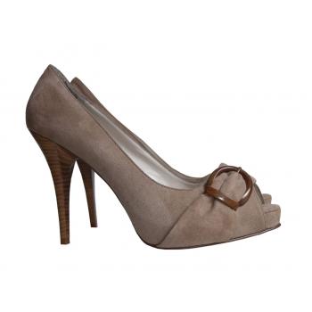 Женские туфли с открытым носком ZARA 39 размер