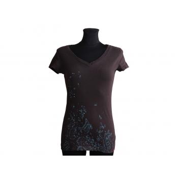 Женская коричневая футболка ESPRIT