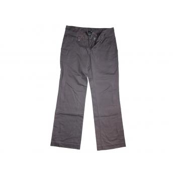 Женские серые брюки H&M, М