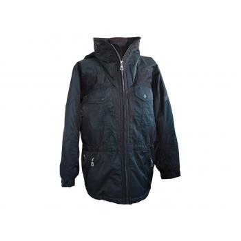 Женская черная зимняя куртка NRG, XXL