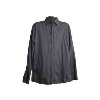 Мужская серая рубашка в полоску MEXX, L