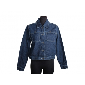 Женская синяя джинсовая куртка XHILARATION, S