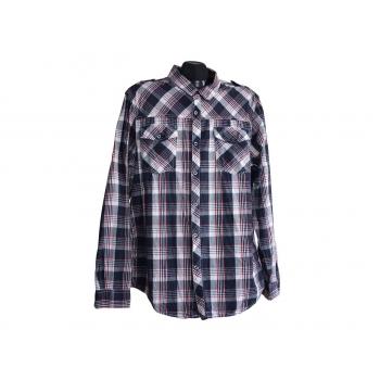 CEDARWOOD STATE мужская рубашка в клетку, L