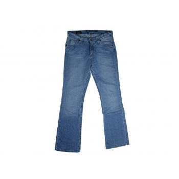 Женские голубые джинсы клеш LEE, М