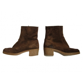 Женские замшевые меховые ботинки MORLANDS 37 размер