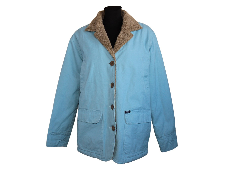 Женская голубая куртка евро зима COTTON TRADERS, XXL