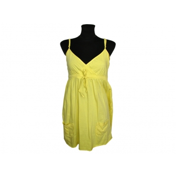 Женский желтый сарафан ONLY, S