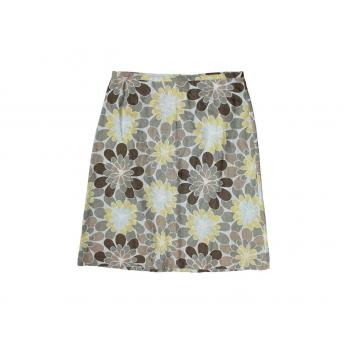 Женская льняная юбка миди H&M