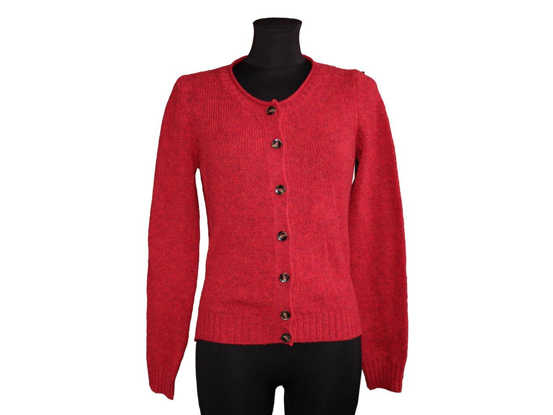 Женская шерстяная красная кофта BENETTON, S