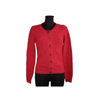 Женская шерстяная красная кофта BENETTON