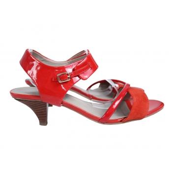 Женские красные босоножки MARKS & SPENCER AUTOGRAF 38 размер