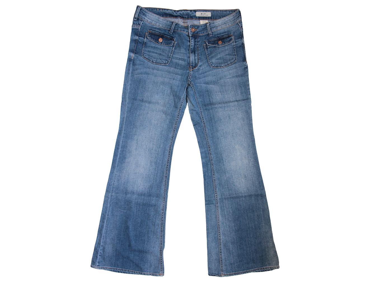 Женские джинсы клеш FLARY H & M, XL