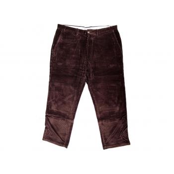 Мужские коричневые вельветовые брюки MARKS&SPENCER W 34