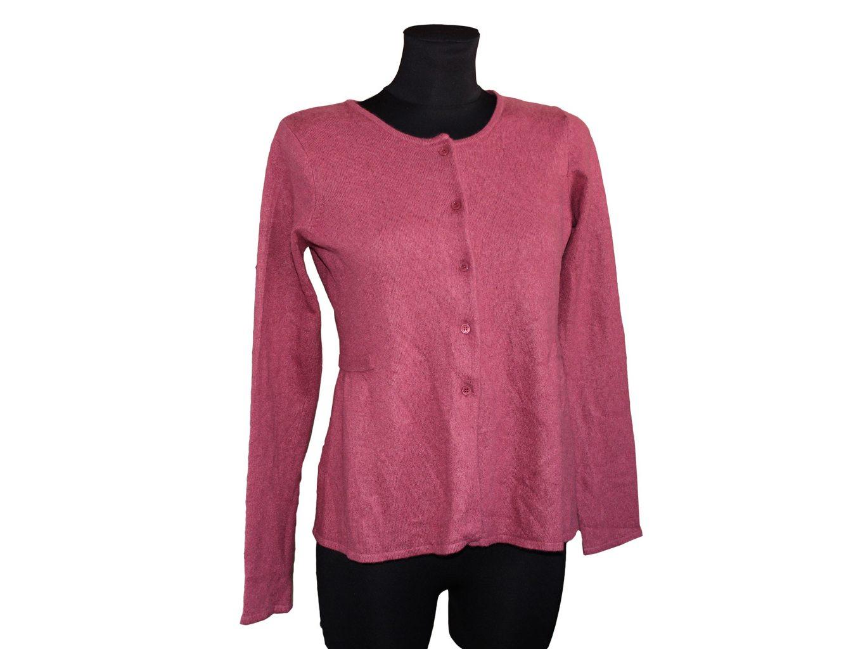 Женская бордовая кофта CYRILLUS, S