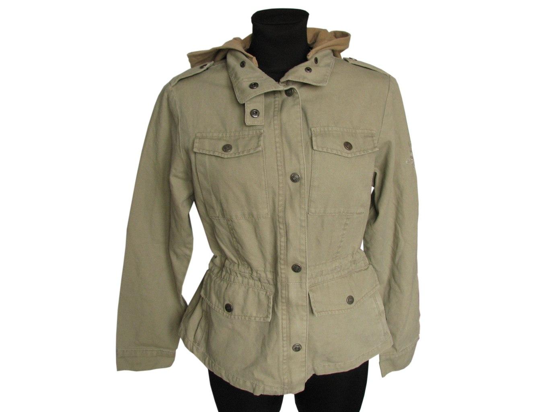 Женская зеленая куртка весна осень ZAVANNA, М