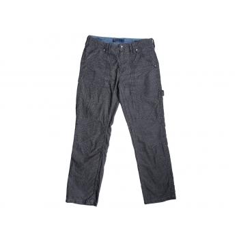Мужские серые вельветовые брюки ANGELO LITRICO W 32