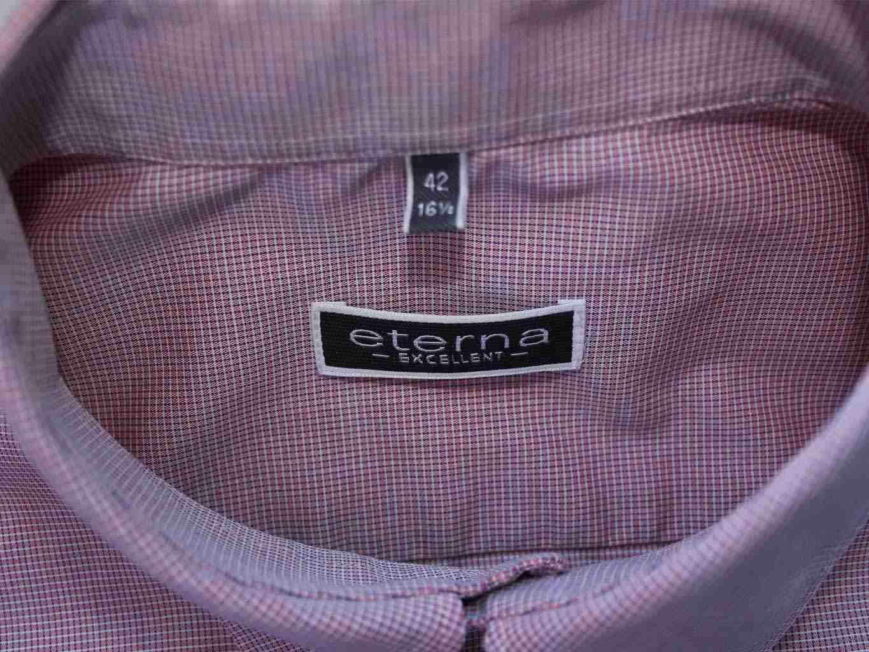 76c5d4f0227b509 Рубашка мужская с коротким рукавом excellent ETERNA, цена до 549 ...
