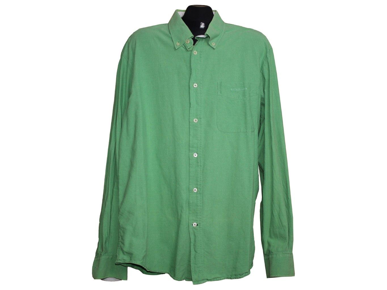 Мужская зеленая рубашка COTTONFIELD, XL