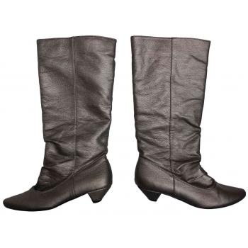 Женские кожаные сапоги весна осень ATMOSPHERE 37 размер