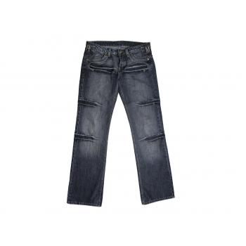Женские прямые серые джинсы RICHMOND