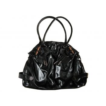 Женская большая кожаная сумка