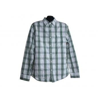 Мужская недорогая рубашка в клетку OLD NAVY, М