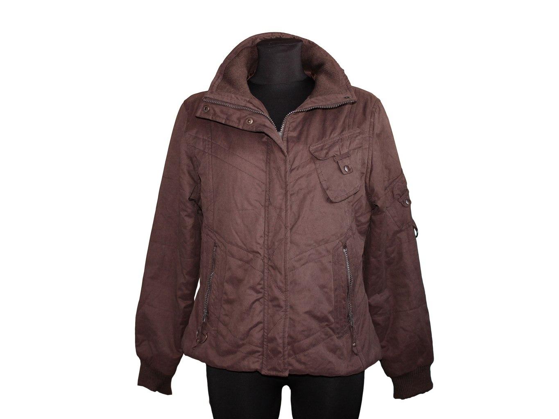 Женская коричневая демисезонная куртка EDITIONS, L
