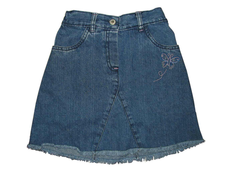 Джинсовая юбка для девочки 6-9 лет MARKS & SPENCER