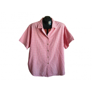 Женская красная рубашка в клетку COMPLIMENTS