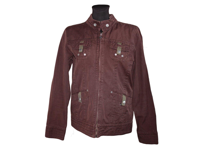 Женская коричневая куртка на осень весну SAIX VERO MODA, S