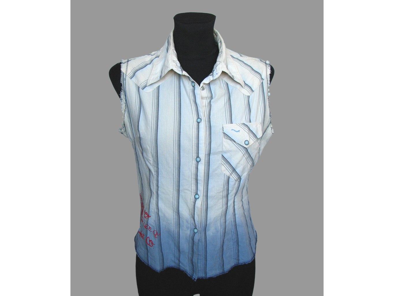 Женская рубашка безрукавка LEE, XS