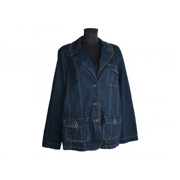 Женская синяя джинсовая куртка MARKS & SPENCER, XL