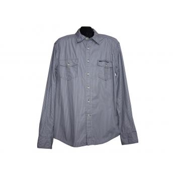 Мужская серая рубашка JACK & JONES, L
