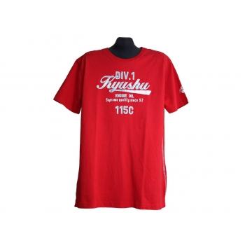 Мужская красная футболка ANGELO LITRICO