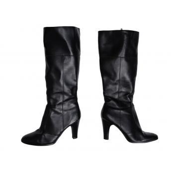Женские осенние кожаные сапоги NEW LOOK 36 размер