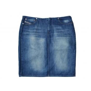 Женская джинсовая миди юбка DIESEL, L