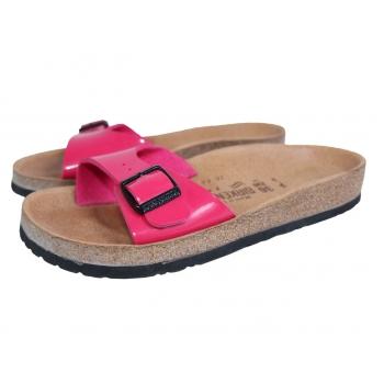 Женские розовые сланцы сандалии BIRKENSTOCK 35 размер