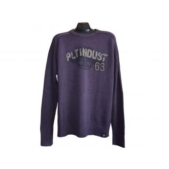 Мужской фиолетовый свитер PILOT DENIM, XL