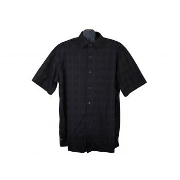 Рубашка мужская черная F&F, XL