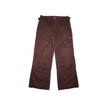 Женские коричневые широкие брюки MEXX, М