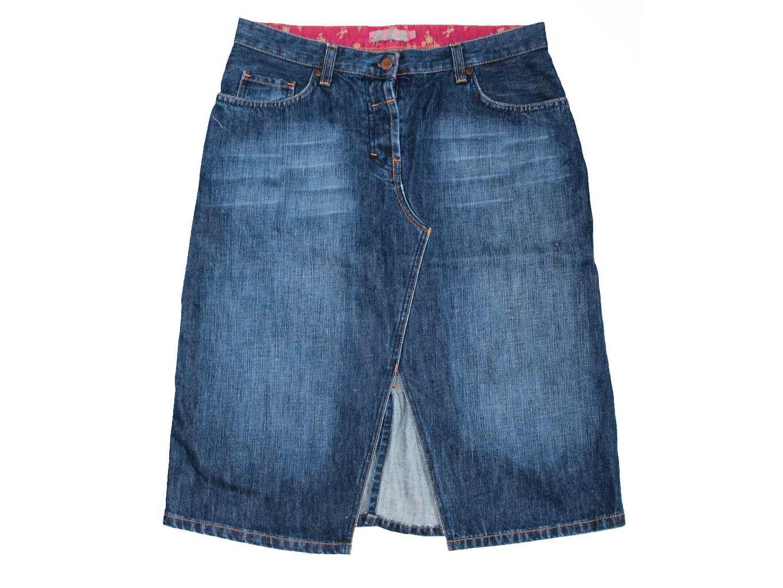 Женская джинсовая миди юбка FALMER, М
