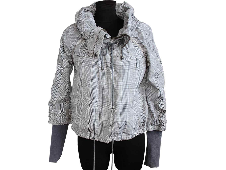 Женская серая куртка весна осень RIVER ISLAND, L