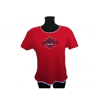 Женская красная футболка ESPRIT, L