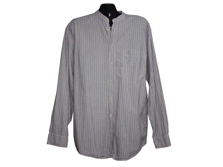 Мужская рубашка воротник стойка, JAEGER, РАСПРОДАЖА РУБАШЕК, цена до ... e35d74b32d5