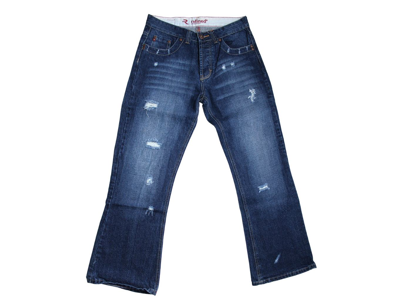 Женские рваные джинсы REFINED