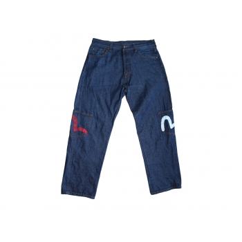 Мужские японские джинсы EVISU W 34 L 32