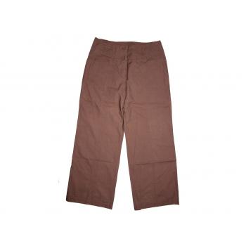 Женские коричневые широкие брюки ETAM, М